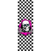 Powell Peralta Grip Tape Sheet 10.5 x 33 Ripper Checker (White)