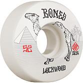BONES WHEELS PRO STF Skateboard Wheels Lockwood Smokin 52mm V3 Slims 103A 4pk