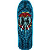 Powell Peralta Mike Vallely Elephant Blem Skateboard Deck Blue 163 SP3