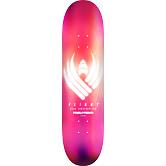 Powell Peralta Flight® Skateboard Deck Glow Pink - Shape 247 - 8 x 31.45