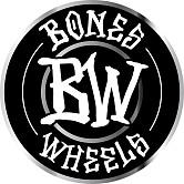 "BONES WHEELS Branded 6"" Sticker 20 pack"