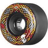 Powell Peralta Snakes Skateboard Wheels 69mm 75A 4pk Black