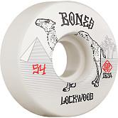 BONES WHEELS PRO STF Skateboard Wheels Lockwood Smokin 54mm V3 Slims 103A 4pk