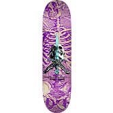 Powell Peralta Skull and Sword Skateboard Deck Purple 246 K21 - 9.05 x 32.95