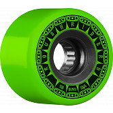BONES WHEELS ATF Rough Rider Tank Skateboard Wheels 59mm 80a 4pk Green