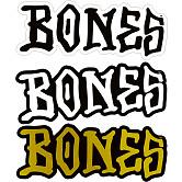 "BONES WHEELS 3"" BONES Sticker 20pk"