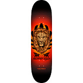 Powell Peralta Salman Agah Lion Blem Skateboard Deck 242 K20 - 8 x 31.45