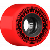BONES WHEELS ATF Rough Rider Tank Skateboard Wheels 59mm 80a 4pk Red