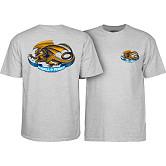 Powell Peralta Oval Dragon Grey T-shirt