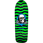 Powell Peralta Old School Ripper Skateboard Deck Green/Black - 10 x 31.75