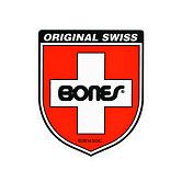Bones Swiss Bearing Shield Sticker Small 20pk