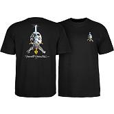 Powell Peralta Skull & Sword T-shirt - Black