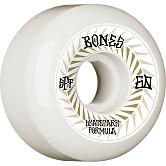 BONES WHEELS SPF Skateboard Wheels Spines 60mm P5 Sidecut 81B 4pk White