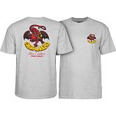 Powell Peralta Steve Caballero Dragon II T-shirt - Athletic Heather Gray