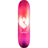 Powell Peralta Flight® Skateboard Deck Glow Pink - Shape 247 - 8 x 31.45