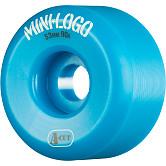 Mini Logo Skateboard Wheels A-cut 53mm 90A Blue 4pk