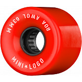 Mini Logo AWOL Skateboard Wheels 63mm 80A Red 4pk