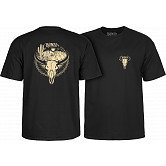BONES WHEELS Desert Ditch T-shirt Black