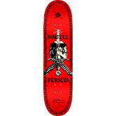 Powell Peralta Skull And Sword Chainz Blem Skateboard Deck Red - 8 x 31.45