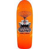 Powell Peralta Gelfand Ollie Tank Skateboard Deck Orange - 10 x 30