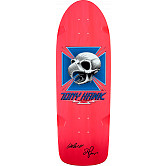 Bones Brigade Hawk Blem Skateboard Deck Pink - Signed by George and Stacy