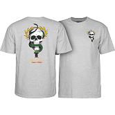 Powell Peralta Mike McGill Skull & Snake  T-shirt - Gray