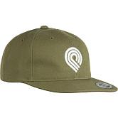 Powell Peralta 3P Snapback Cap Military Green
