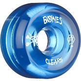 BONES SPF Clear Blue 56x33 P5 Skateboard Wheel 84B 4pk