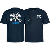 Powell Peralta Rat Bones T-shirt - Navy
