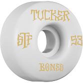 BONES STF Pro Tucker Title 53x31 V1 Skateboard Wheel 83B 4pk
