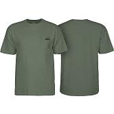 BONES WHEELS Petey T-Shirt Military Heather