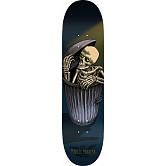 Powell Peralta Garbage Can Skelly Skateboard Blem Deck Blue - 8 x 31.45