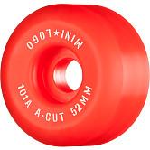 """Mini Logo Skateboard Wheels A-cut """"2"""" 52mm 101A Red 4pk"""