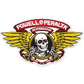 Powell Peralta Winged Ripper 5 inch Die-Cut Sticker Single - RED