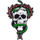 Powell Peralta Skull and Snake Lapel Pin