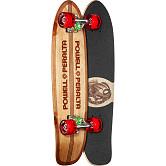 Powell Peralta Sidewalk Surfer Quad Stringer Skateboard Cruiser Assembly - 7.75 x 27.20 WB 14.0