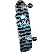 Powell Peralta OG Ripper Custom Complete Skateboard Silver - 10 x 30