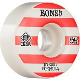 BONES WHEELS STF Skateboard Wheels Patterns 54 V4 Wide 103A 4pk
