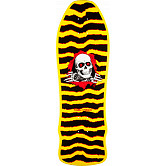 Powell Peralta Geegah Ripper Skateboard Deck Yellow - 9.75 x 30
