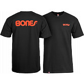 Bones® Bearings Swiss Text T-Shirt - Black