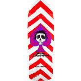 Powell Peralta Steadham Spade Blem Skateboard Deck Red/Wht 153 SP3