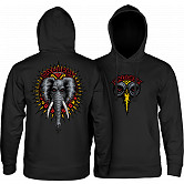 Powell Peralta Mike Vallely Elephant Mid Weight Hooded Sweatshirt - Black
