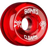 BONES SPF Clear red 60x34 P5 Skateboard Wheel 84B 4pk