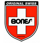 Bones Swiss Bearing Shield Sticker Medium 20pk