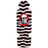 Powell Peralta OG Ripper Skateboard Deck White/Red - 10 x 30