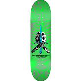 Powell Peralta Skull and Sword Skateboard Deck Green - Shape 247 - 8 x 31.45