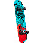 Powell Golden Dragon Samurai Dragon III Complete Skateboard - 7.75 x 31.75