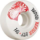 BONES WHEELS PRO STF Skateboard Wheels Berger Falcon 54mm V3 Slims 103A 4pk
