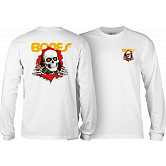 Powell Peralta Ripper L/S T-shirt - White