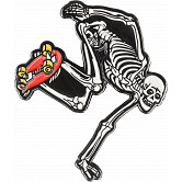 Powell Peralta Skateboarding Skeleton Lapel Pin 2